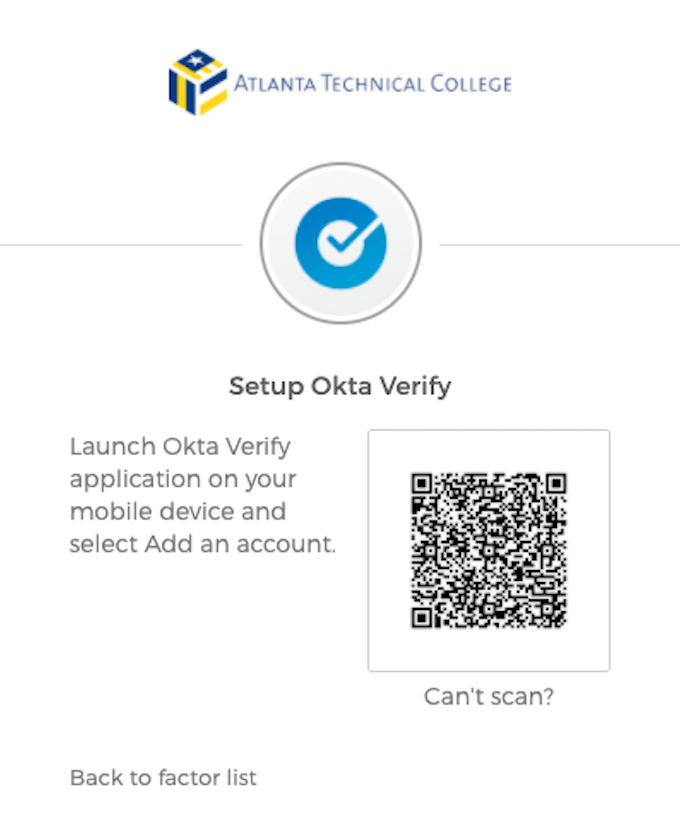ATC Okta Quick Start Guide