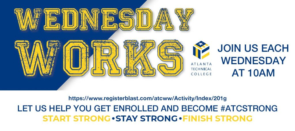 WEDNESDAY WORKS BANNER